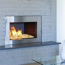 Contemporary Fire Glass Sets