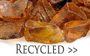 Recycled Crushed Fire Glass